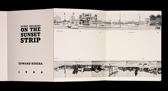 "Ruscha's ""Every Building on the Sunset Strip,"" (self-published), 1966"