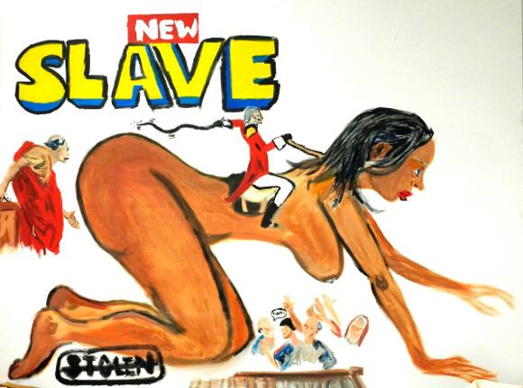 "Ryan Hester, ""New Slaves,"" 2013. | Photo: Courtesy of the artist."