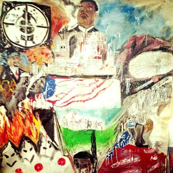 """Ryan Hester, """"Public Enemy Number 1,"""" 2012. 