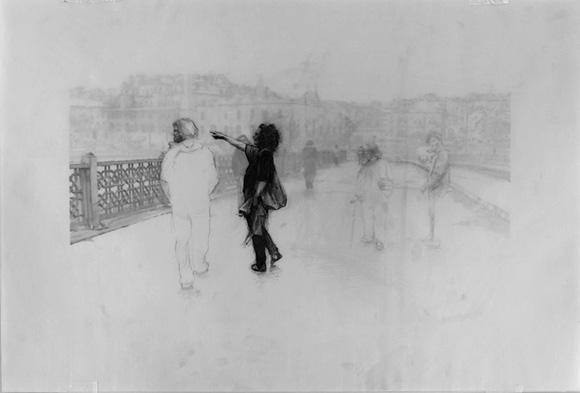 "Miha Åtrukelj, ""Galata Bridge"""