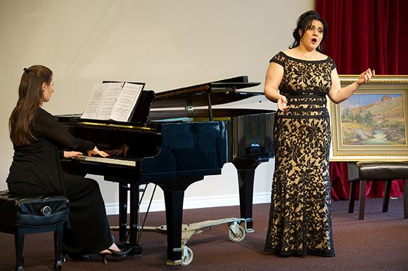 Marine Ter-Kazaryan performing at the Armenian concert back in February | Photo: Gary Leonard