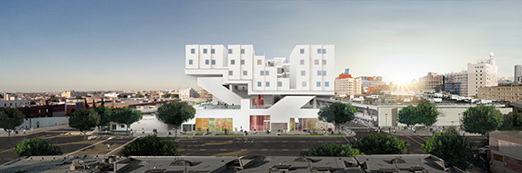 Star Apartments elevation.