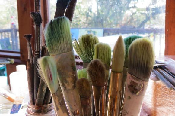 Lakeside studio of artist Suzi Bliss. | Photo: Catherine J. Trujillo.
