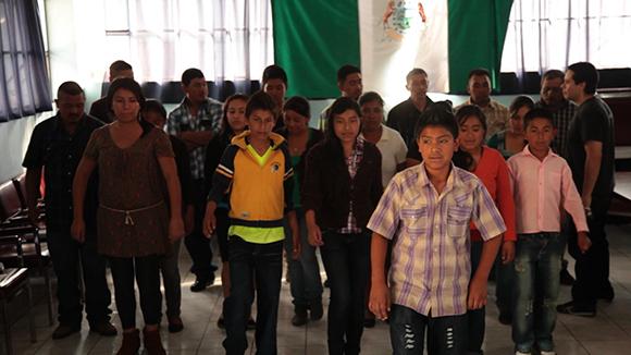 """Still from """"Teatro Jornalero Sin Fronteras """""""
