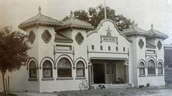 The Fairbairn Building Municipal Bath House at 840 11th St., Paso Robles. | Photo: Courtesy of the Paso Robles Historical Society.