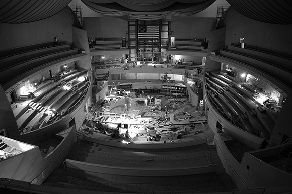 The beginnings of Walt Disney Concert Hall. | Photo: Gary Leonard.