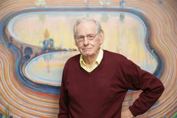 Wayne Thiebaud, Sacramento, CA. | Photo: Sacramento State / Mary Weikert.