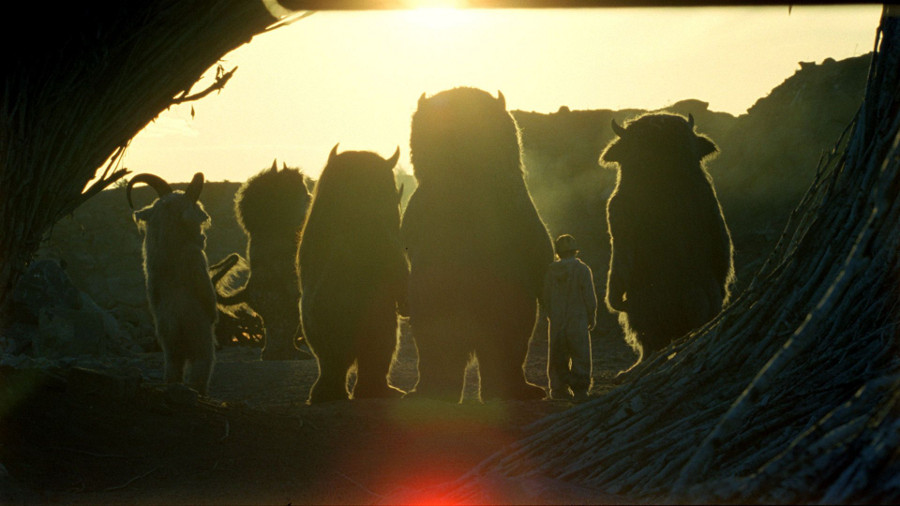 """Where The Wild Things Are"" directed by Spike Jonze with production design by K. K. Barrett. 