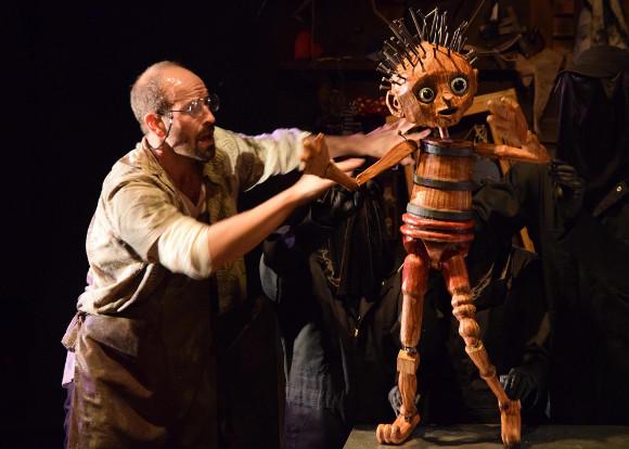 """Wood Boy Dog Fish."" | Photo: Rogue Artists Ensemble."