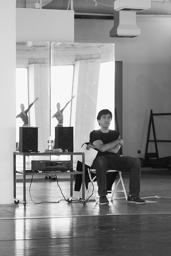 """DANCE+DESIGN II"" rehearsal. 