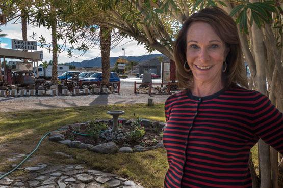 Susan Sorrels owner of Shoshone, CA. | Photo: Kim Stringfellow