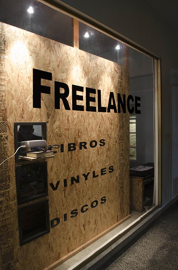 Freelance storefront.