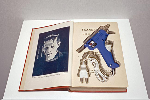 """The Post-Modern Prometheus,"" (Detail) Collection of the La Jolla Athenaeum of Music and Arts Library"