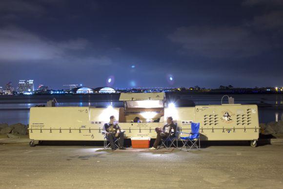 <em>Drone Readymade: Fine Military Detritus</em>, North Island | Photo: The Periscope Project.