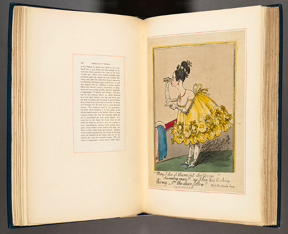 Elizabeth Stone, Chronicles of Fashion. London, 1845. The Huntington Library, Art Collections, and Botanical Gardens.