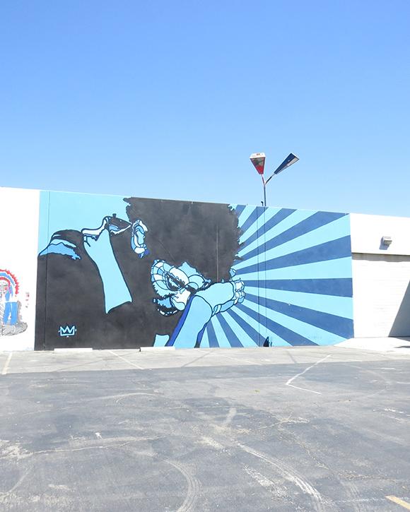 Jean-Michel Basquiat by David Flores
