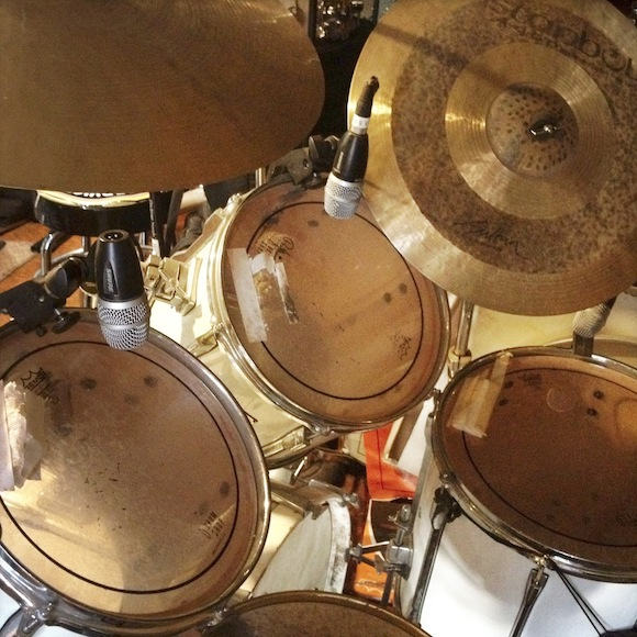 One of James Gadson's drum kits | Photo: Oliver Wang