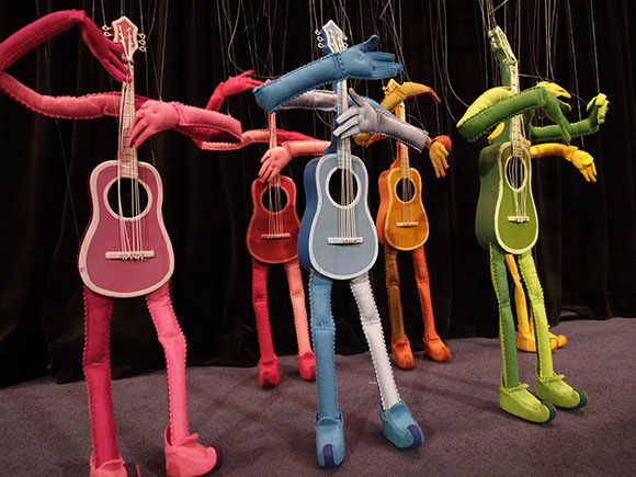 Guitars | Photo: Courtesy of The Bob Baker Marionette Theater.