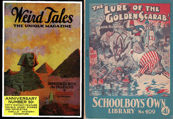 Pulp Magazines of the early 20th Century