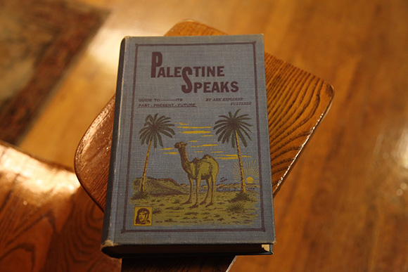 "Futterer's Book, ""Palestine Speaks"" | Photo: Drew Tewksbury"