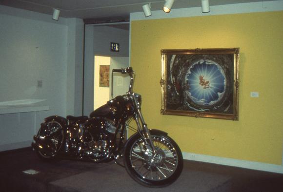 """""""Kustom Kulture"""" exhibition, Laguna Art Museum, 1993."""