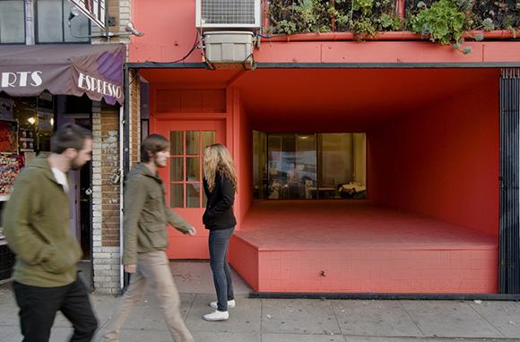 """Storefront Plaza"" (2012). | Photo: Mark Escribano."