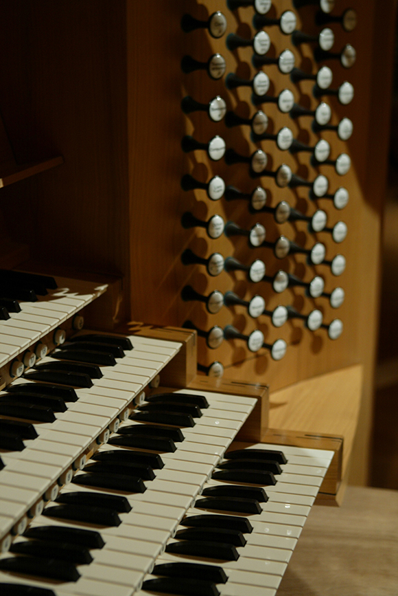 Organ console | Photo: Craig Mathew/Mathew Imaging