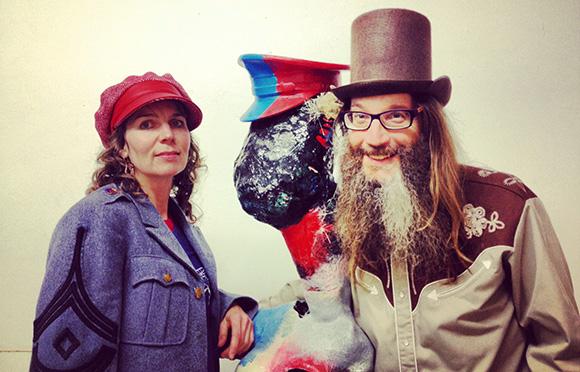 Jacobine van der Meer and Emmy Collins from Brutal Poodle. | Photo by Evan Senn