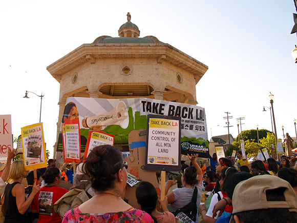 Rally Against Metro  | Photo: Courtesy of Abe Flores.