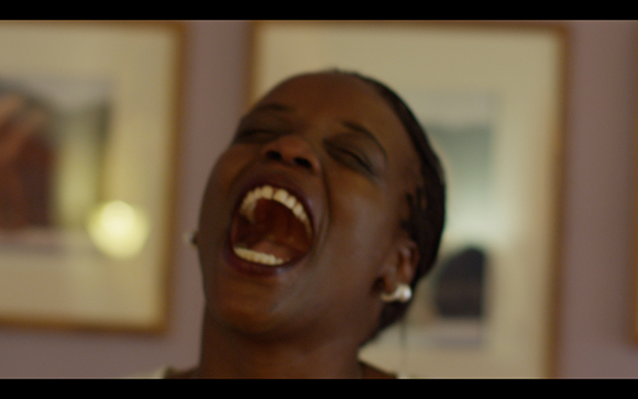 "Nicole Miller, still from video series ""Believing is Seeing,"" featuring Redlands resident Ndinda Spada"