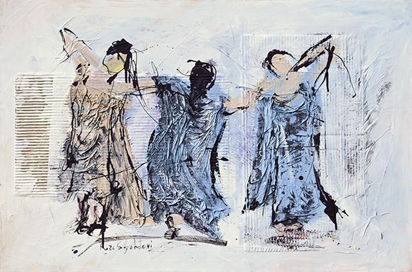 """Three dancers""   Reza Sepahdari"