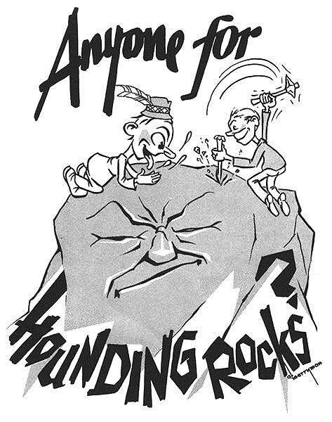 Cartoon form March 1967 Desert Magazine article.