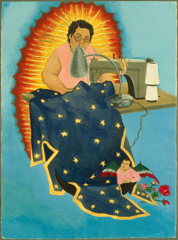 """""""Margaret F. Stewart: Our Lady of Guadalupe"""" by Yolanda Lopez, 1978. 
