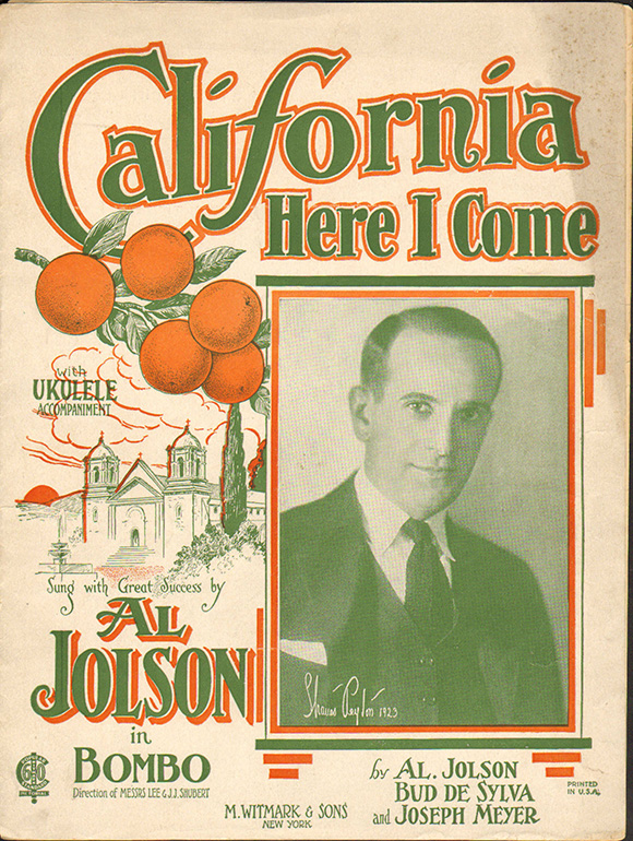 California Here I Come | Courtesy: LAPL.