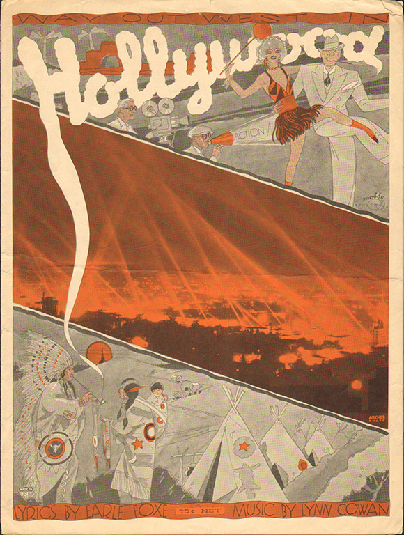 Way Out West in Hollywood | Courtesy of LAPL.