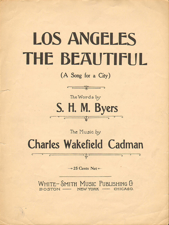 Los Angeles The Beautiful, 1920 | Courtesy of LAPL.
