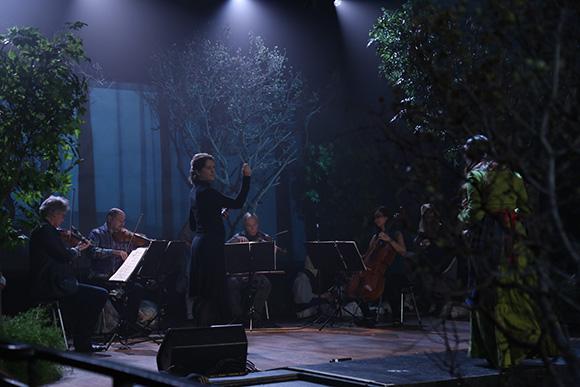 Lisa Bielawa and Kronos Quartet. | Photo: Remsen Allard