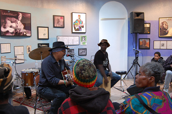 Gregg Wright and Marcus L. Miller perform | Photo: William Grant Still Art Center