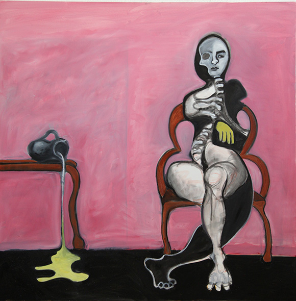 Mary Waronov painting | Photo: Victor Woronov
