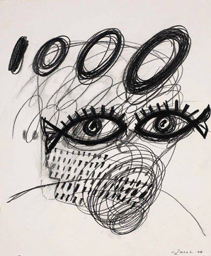 Untitled by Zareh, 2006, pencil on paper, 17 x 14 inches | Image courtesy of the artist