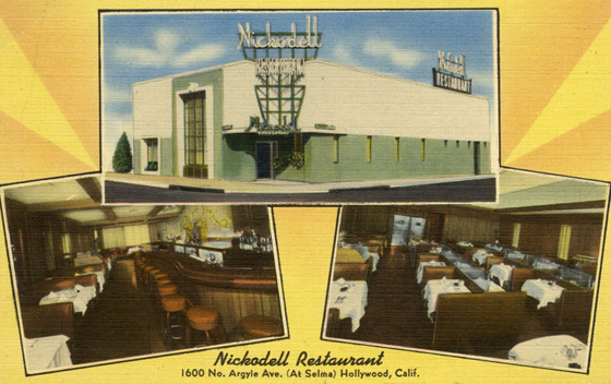 Nickodell Bar | Photo: Courtesy of LAPL.
