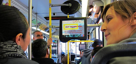 """Out the Window"" in LA Metro Buses"