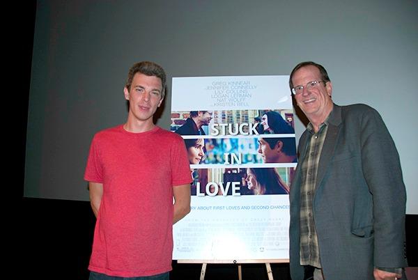 Left: Director Josh Boone. Right: Moderator Pete Hammond.