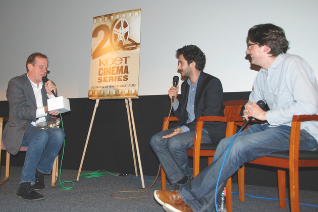Q&A, Earth to Echo screening
