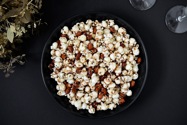 Sweet and Salty Brown Butter Popcorn