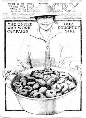 Salvation Army War Cry magazine, November 9, 1918 [Public domain], via Wikimedia Commons