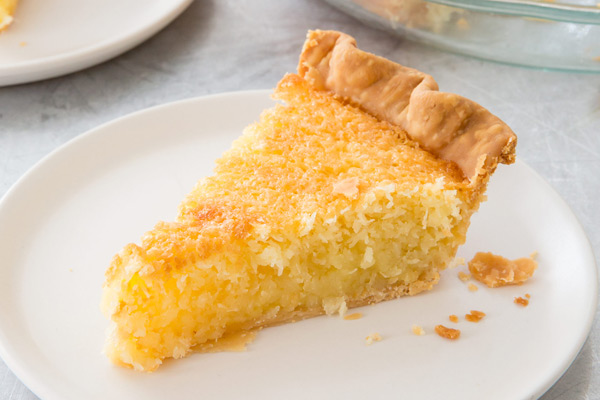 French Coconut Pie America S Test Kitchen
