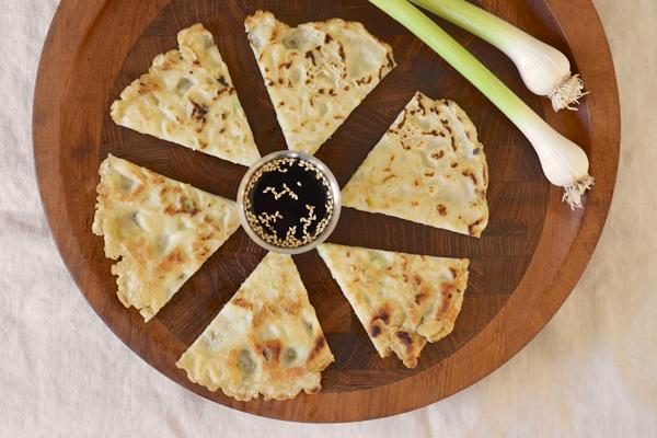 Gluten-Free Green Garlic Jeon