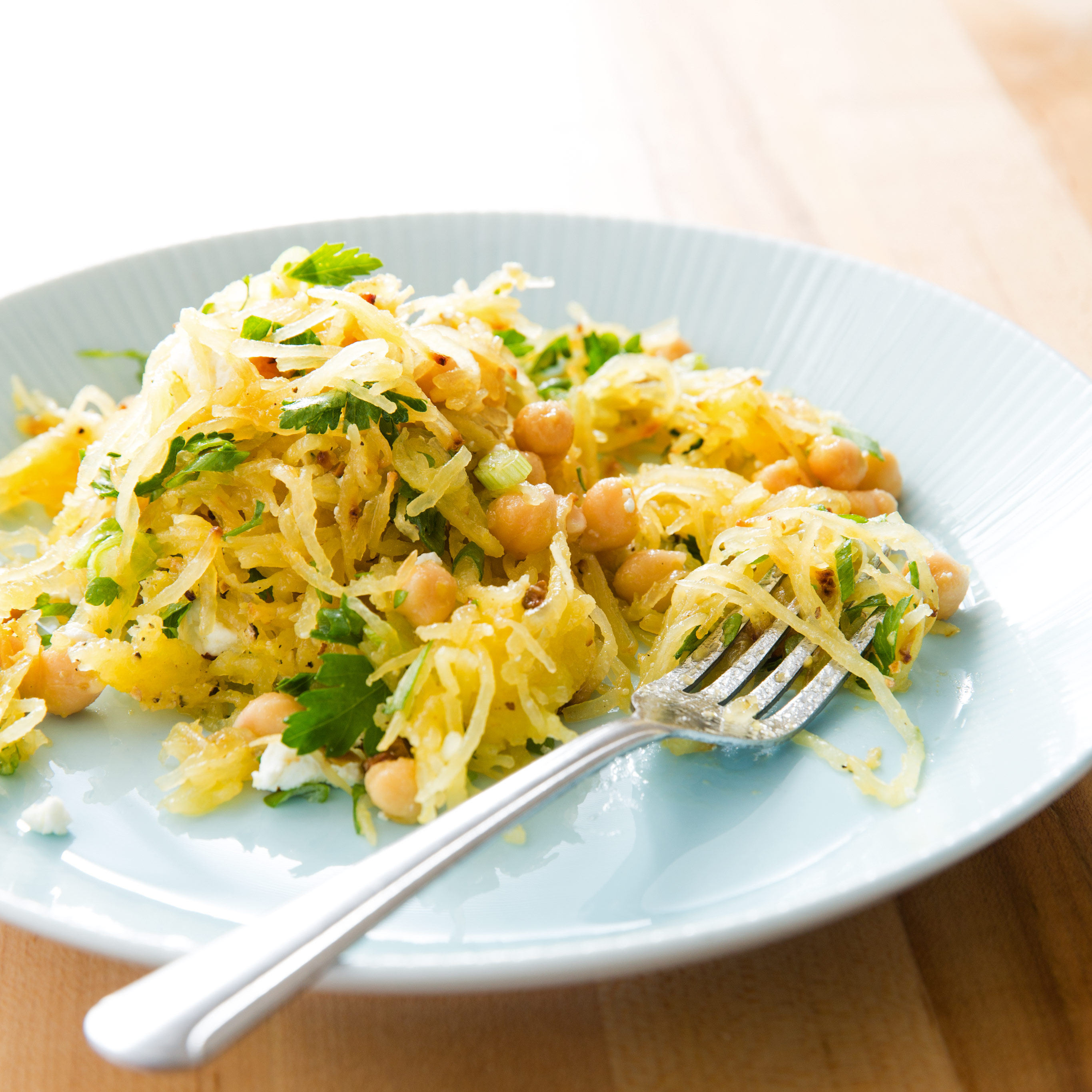 Weekend Recipe Spaghetti Squash Salad With Chickpeas And