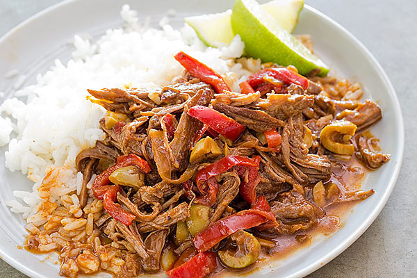 Weekend Recipe: Cuban Braised Shredded Beef (Ropa Vieja ...